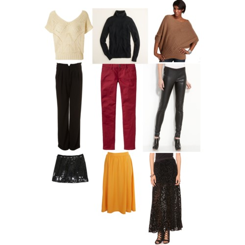 Fall Essentials - Tops & Bottoms