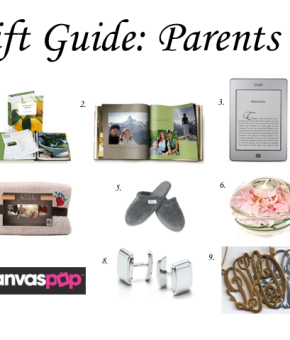 Gift Guide - Parents