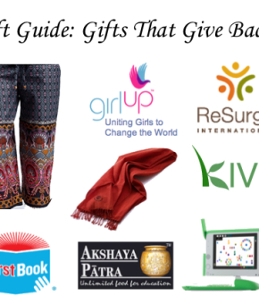 Gift Guide - Gifts That Give Back