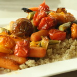 Summer Roasted Vegetables with Quinoa