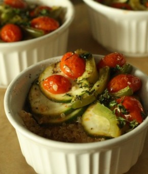 Quinoa Ratatouille | Hitha On The Go