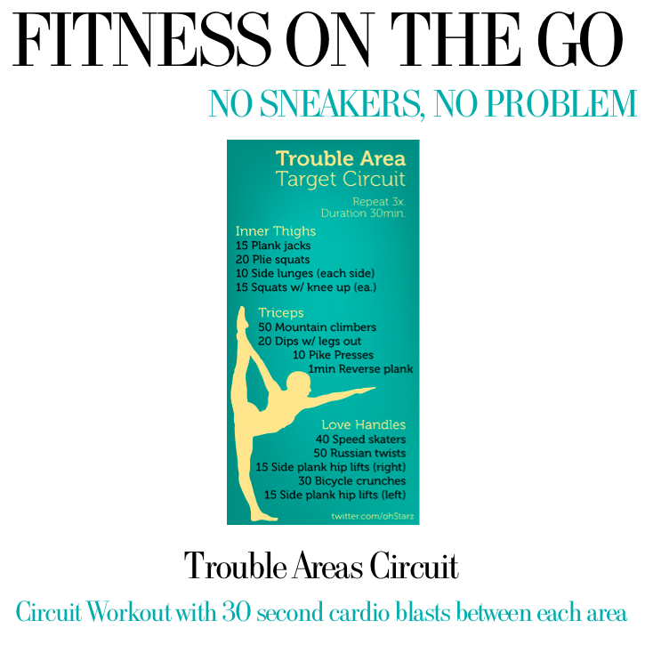 Sneakerless Workouts Trouble Areas Workout