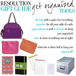 Resolution Gift Guide – Get Organized