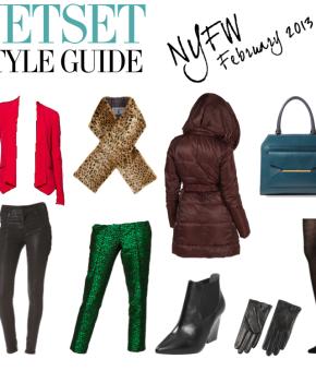 Jetset Style Guide NYFW February 2013