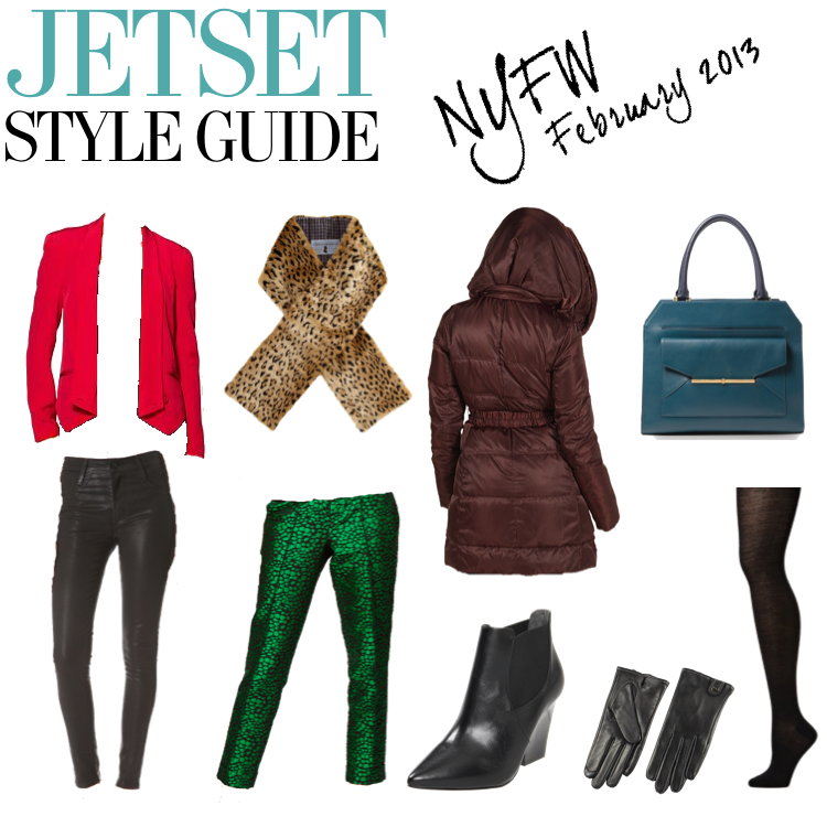 Jetset Style Guide NYFW February 2013