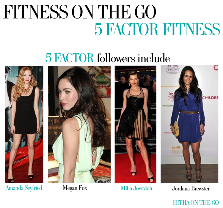 Fitness On The Go 5 Factor Fitness Who Does it