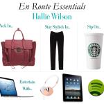 En Route With…Hallie Wilson