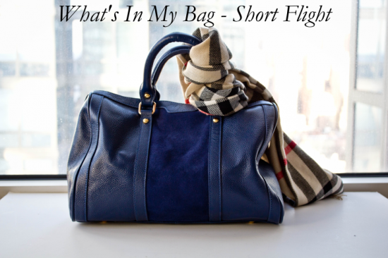 Short Flight Carry On Bag