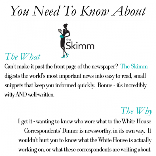 You Need To Know About The Skimm