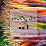 Reading List – Health