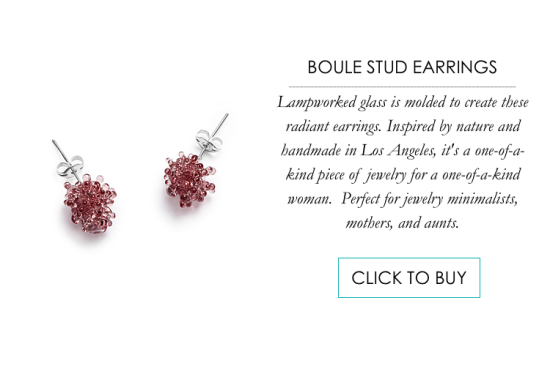 Boule Stud Earrings