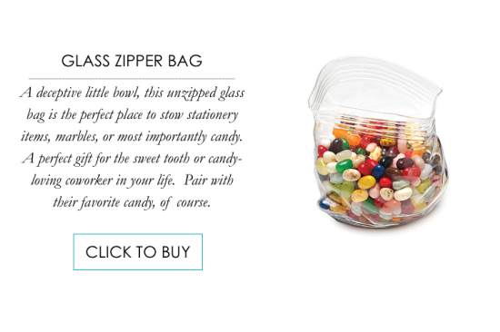 Glass Zipper Bag