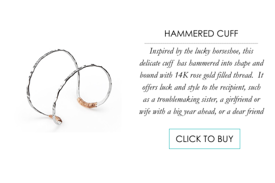 Hammered Cuff