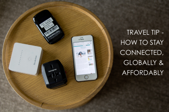 travel tip stay connected globally afforably