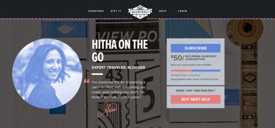 Hitha On The Go x Quarterly