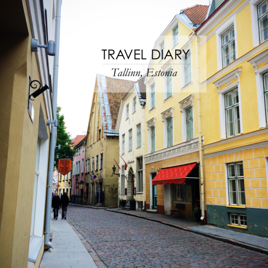 travel diary tallinn estonia