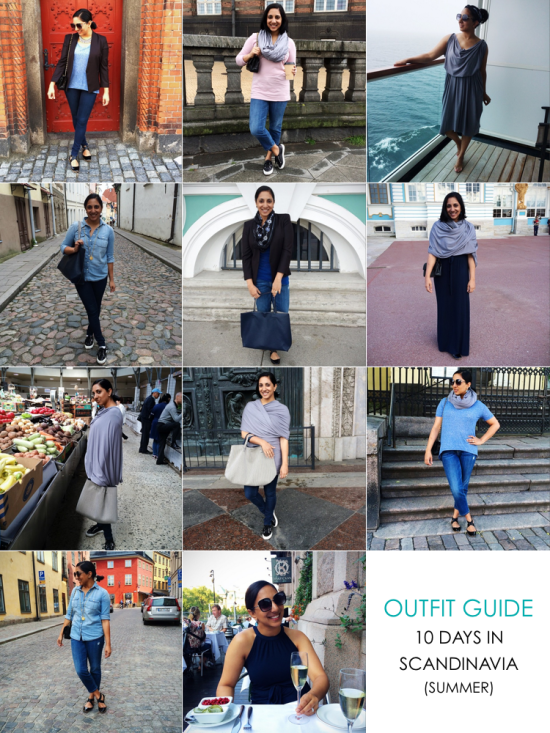 Outfit Guide - 10 Days in Scandinavia