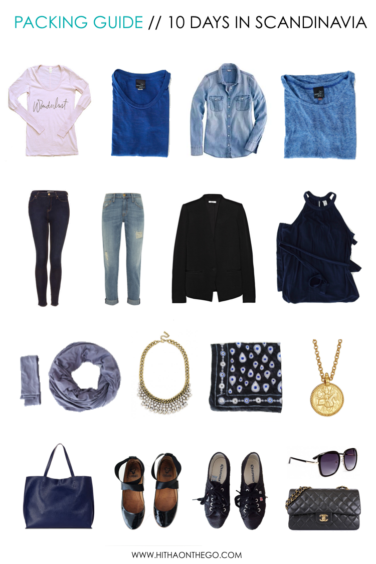 Packing Guide 10 Days In Scandinavia