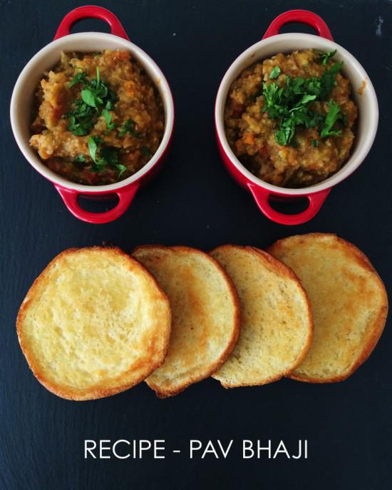 Recipe - Pav Bhaji