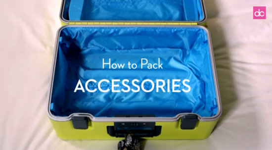 How To Pack Accessories
