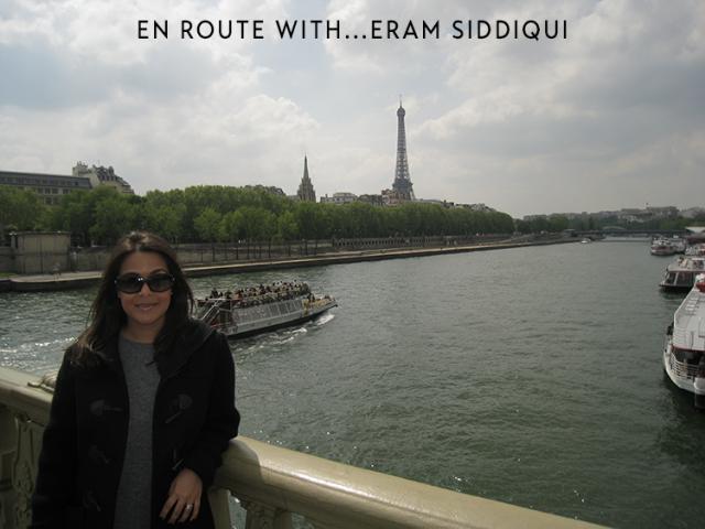 EN ROUTE WITH ERAM SIDDIQUI