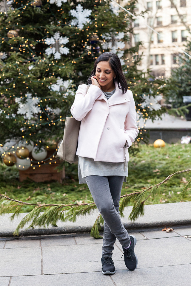 Gray Winter Outfit