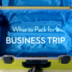 VIDEO – What to Pack for a Business Trip