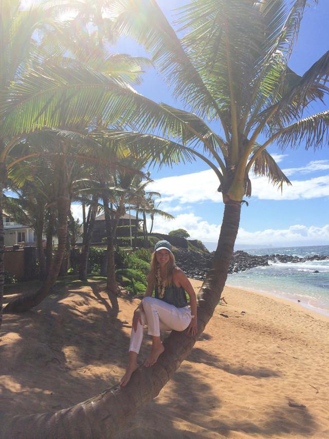 Lindsay Ellingson Beach