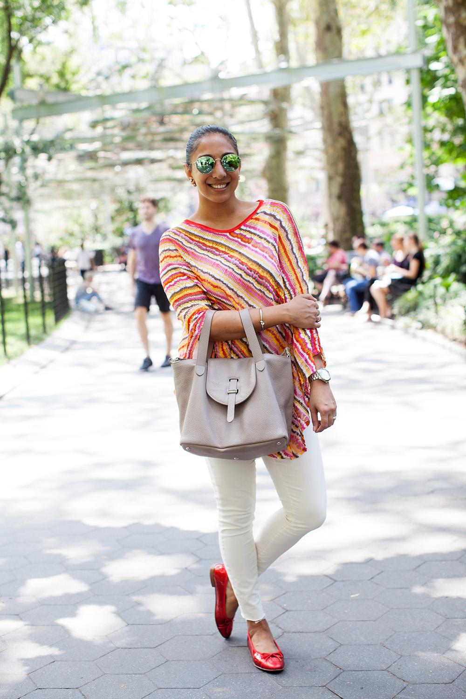 Meli Melo Thela Bag Madewell Aviators Top White Jeans