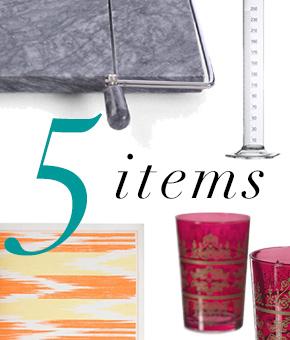 5 Items Easy Entertaining Thumbnail