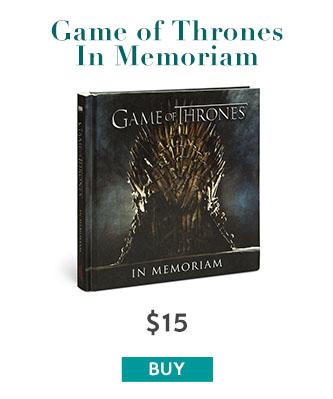 Game Of Thrones In Memoriam