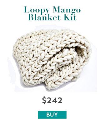 Loopy Mango Blanket Kit