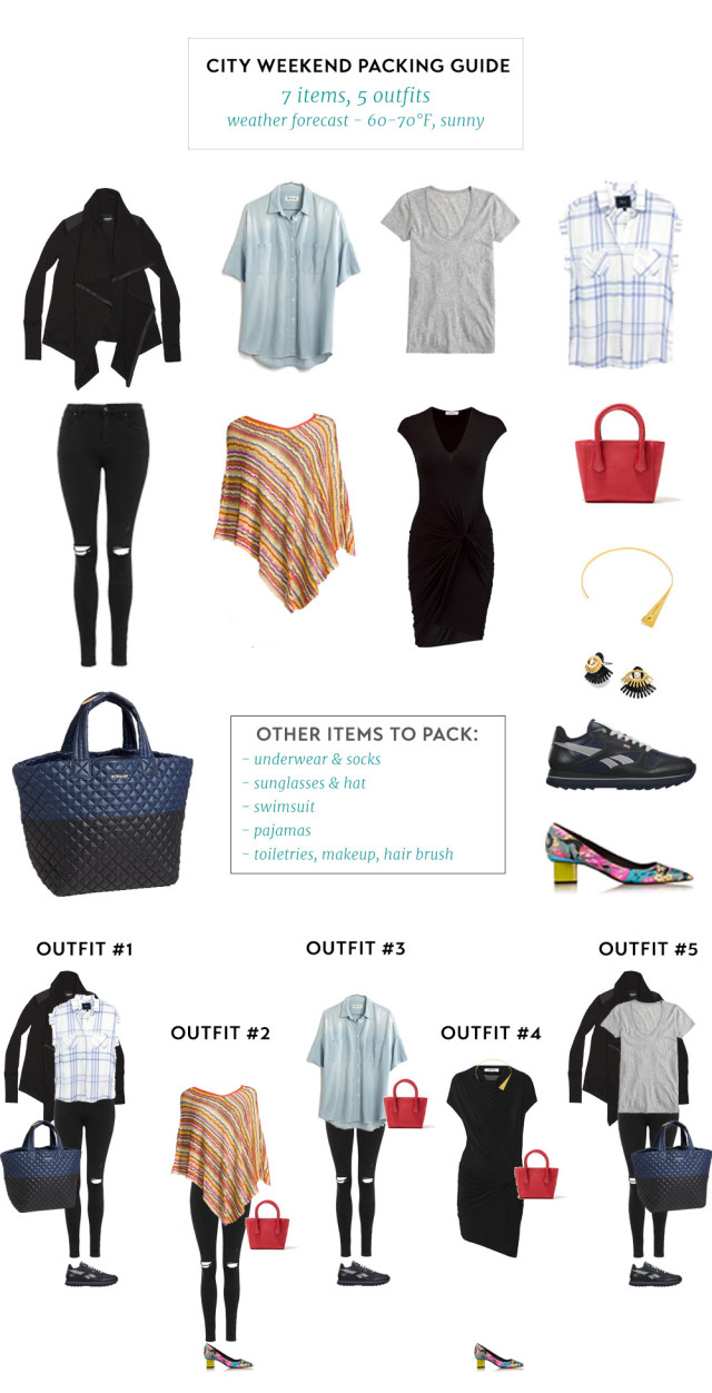 Outfit List - Winter Weekend In Miami