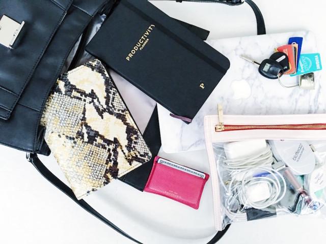Hitha Palepu Work Bag Essentials