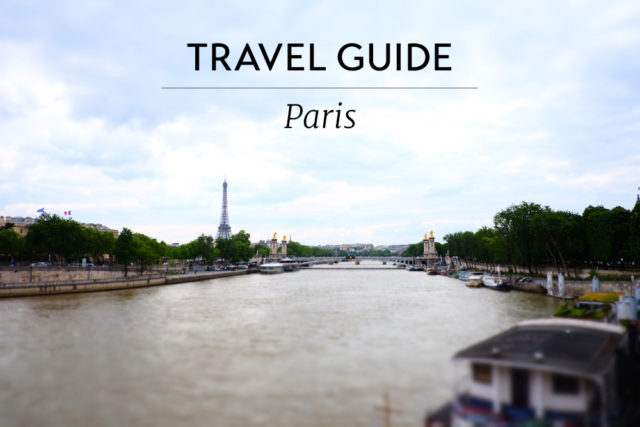 Planning a trip to Paris? PIN this for future reference.