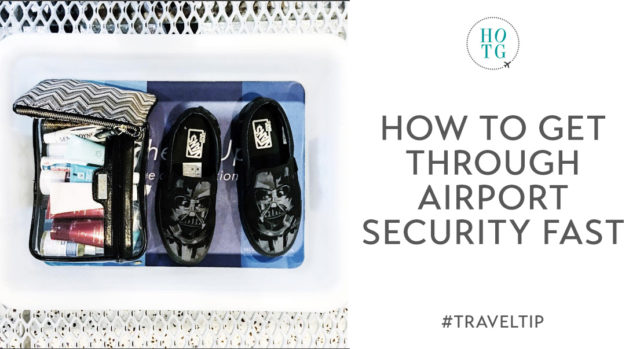 5 Tips for Getting Through Airport Security