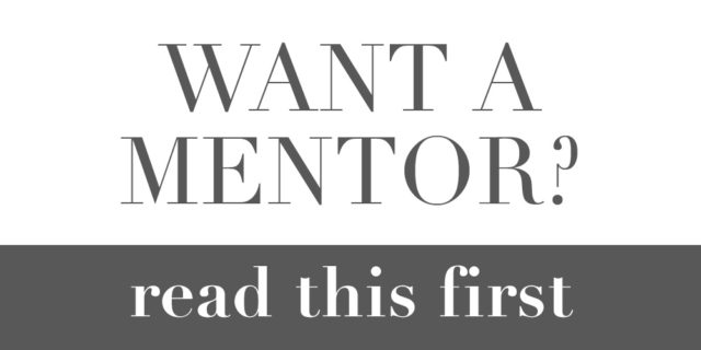 How To Make Anyone Your Mentor