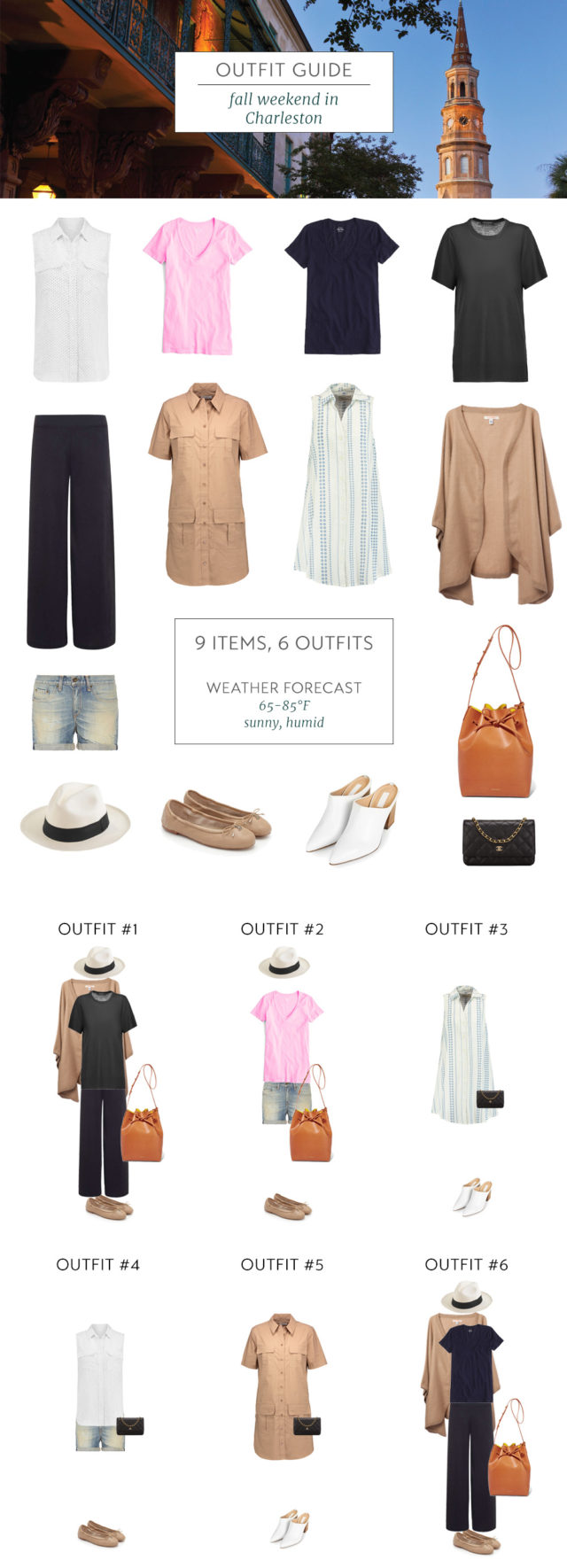What To Pack For A Fall Weekend In Charleston