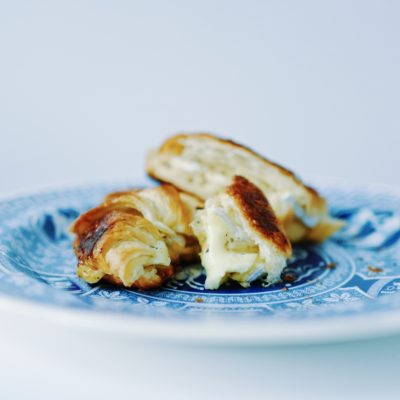Croissant Brie Grilled Cheese