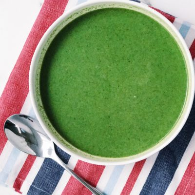 How To Make Chilled Spinach Soup