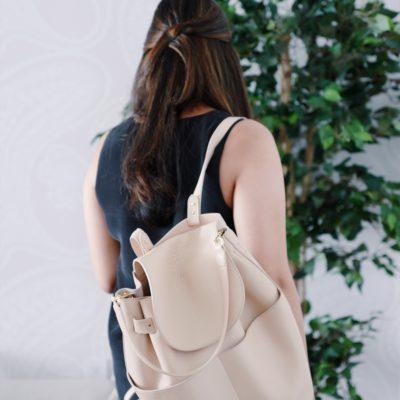Blush Cuyana Backpack