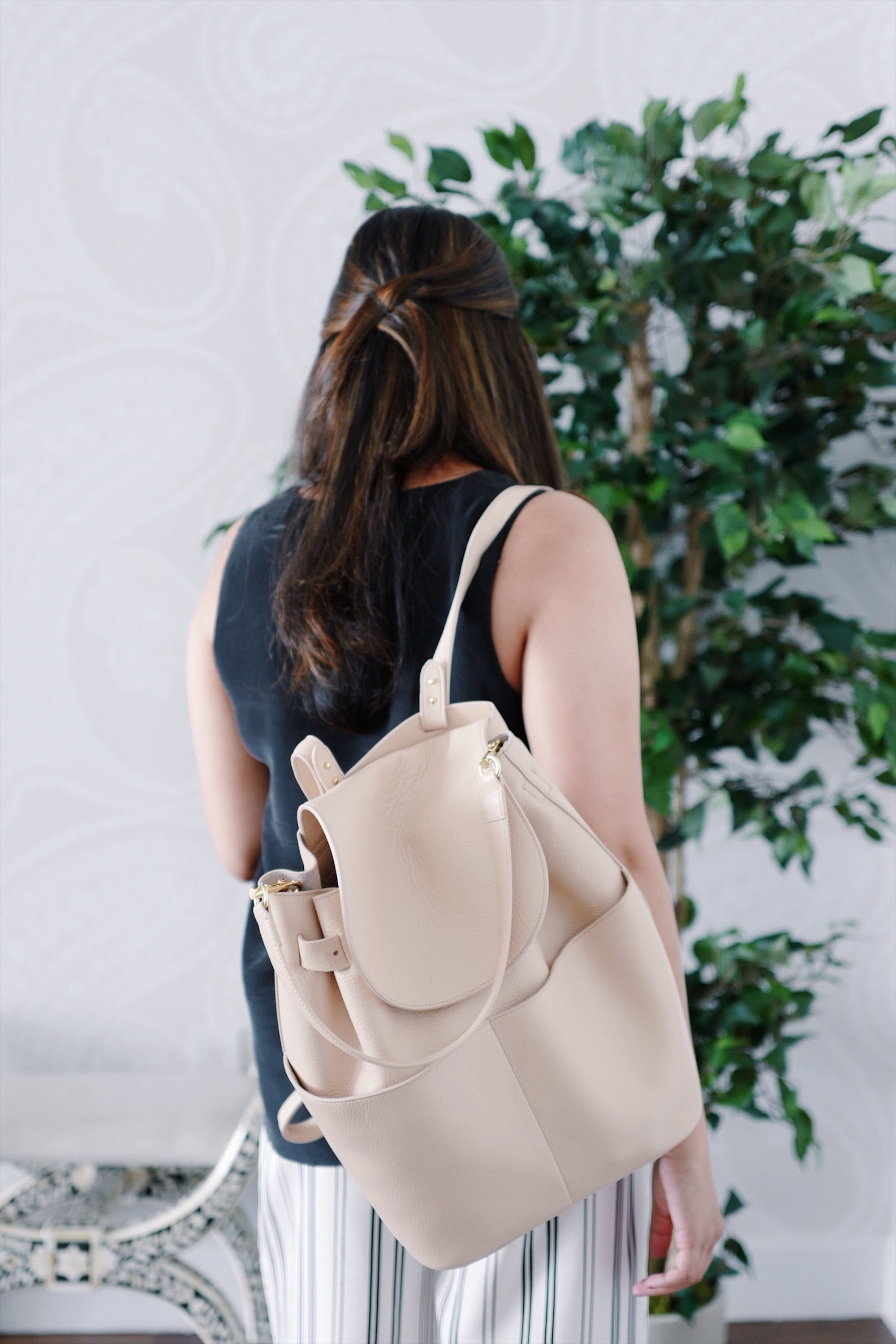 3cac725f00 Why I m Obsessed With The Cuyana Backpack - And What I Keep Inside ...