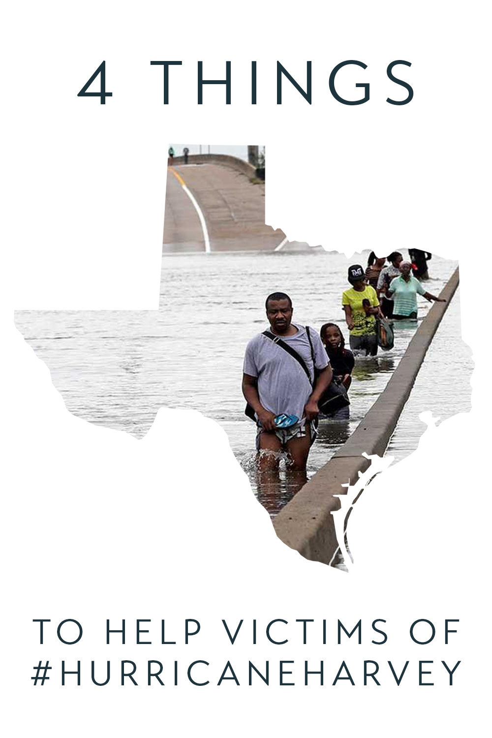 If you're reading this, chances are you were barely affected by Hurricane Harvey, save for a handful of social media updates.