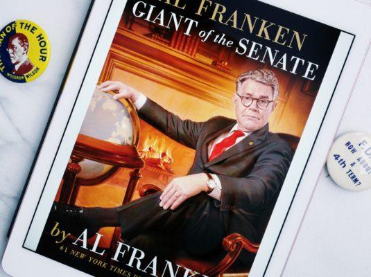 Book Review - Al Franken: Giant Of The Senate